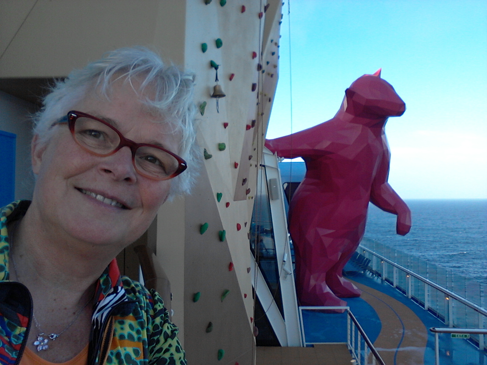 Museumblog Kunst op zee Quantum of the Seas Royal Caribbean Cruises © Wilma Lankhorst