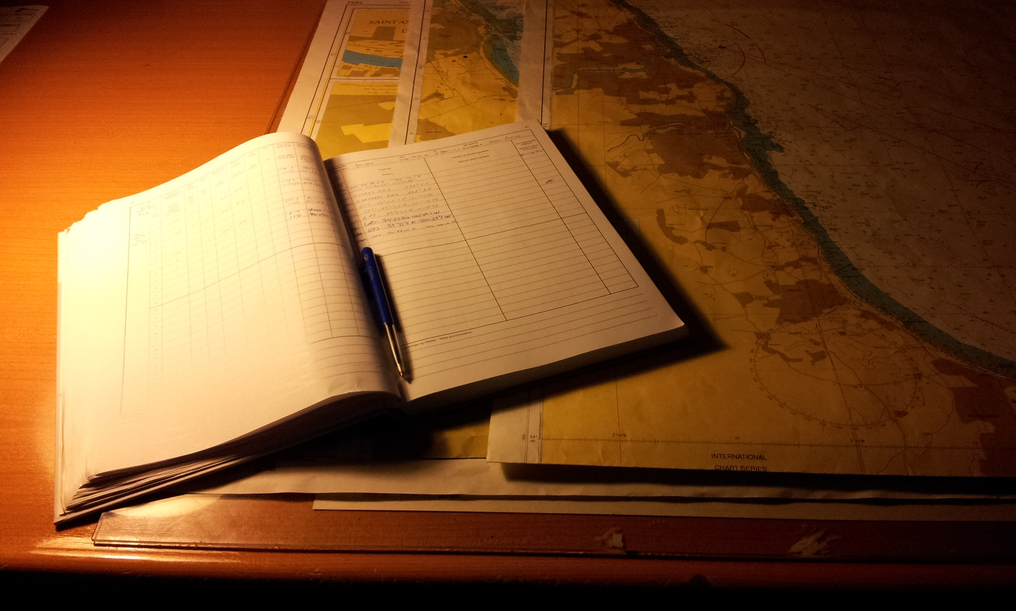 05-dfds logboek