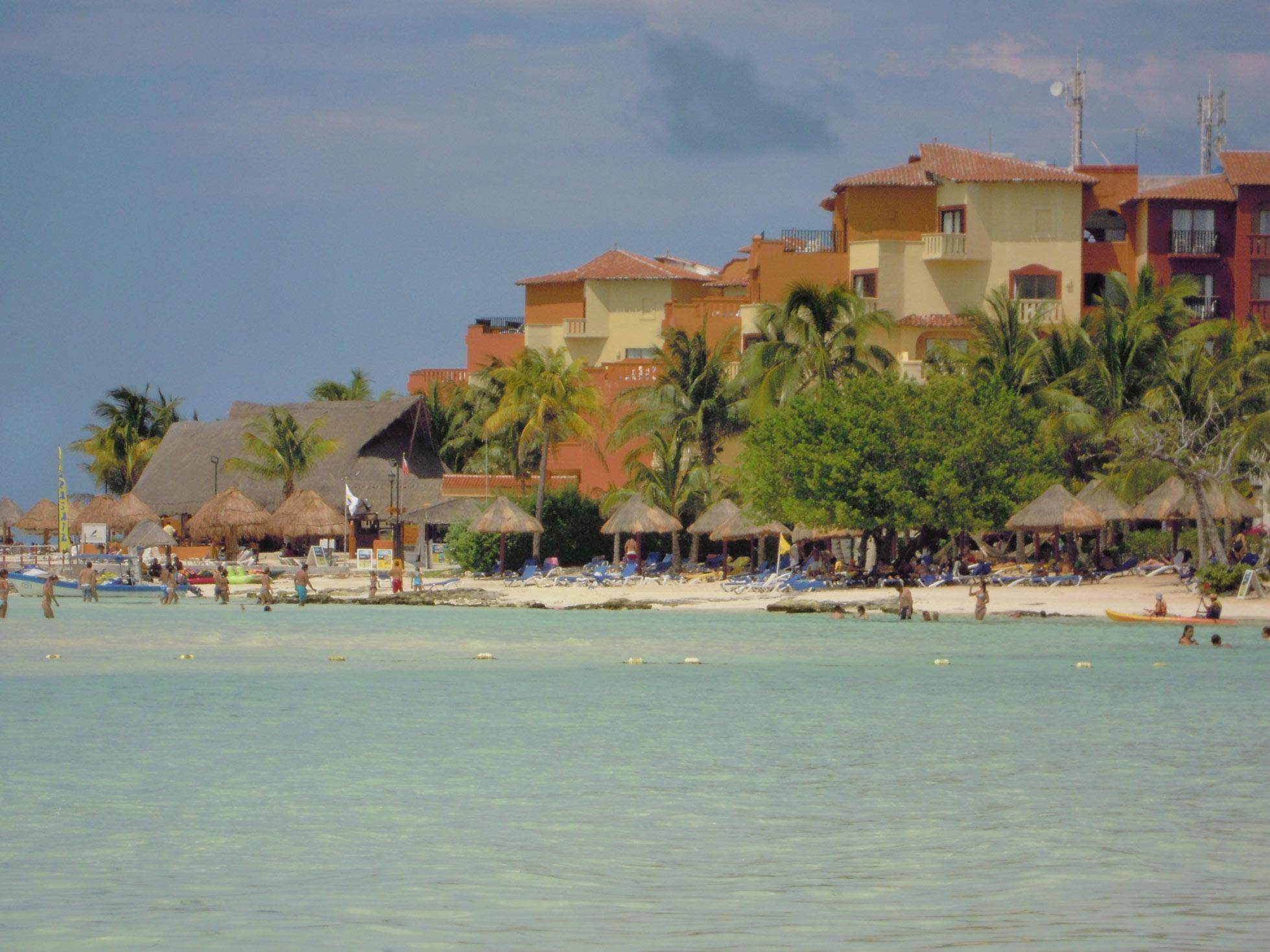 Cancun-strand