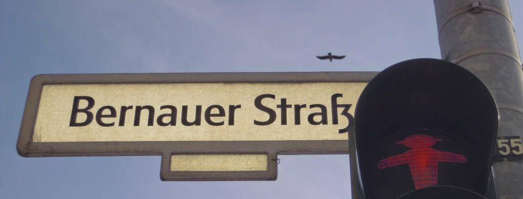 Bernauer Strasse bezoek hier het Informatiecentrum over de Muur