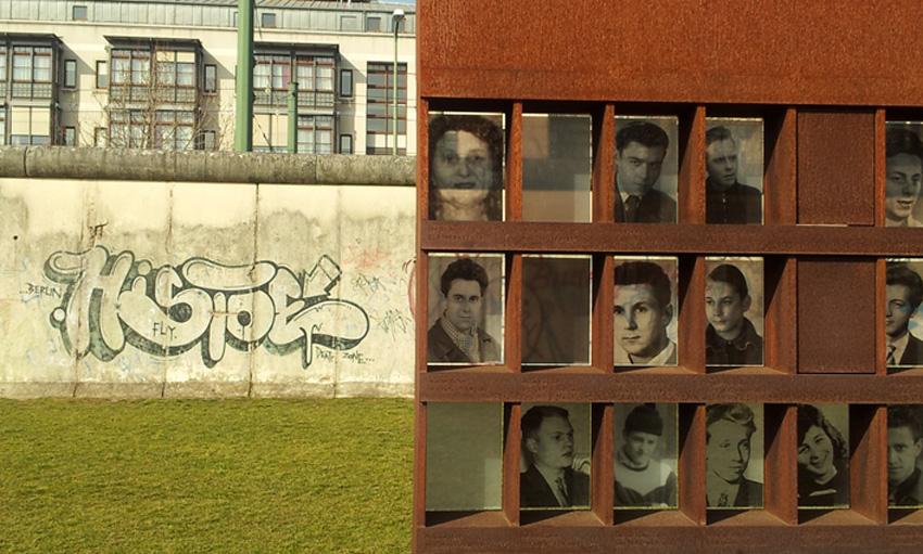fotoherdenkinsgmuur aan de Bernauer Strasse © Wilma Lankhorst