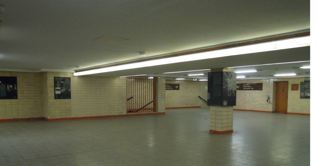 Station Bernauer Strasse vertelt het verhaal van de splitsing © Wilma Lankhorst