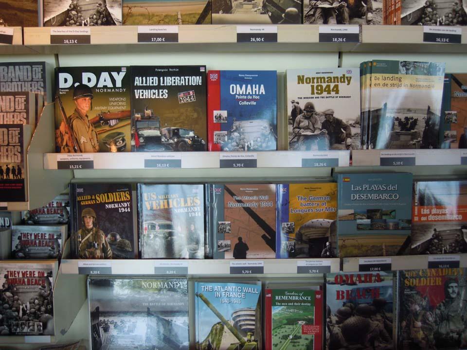 Normandie - boekenrek