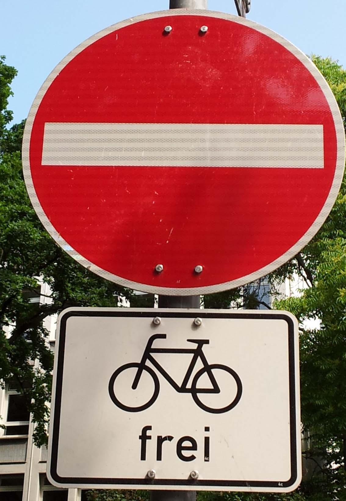 fietsen vrij