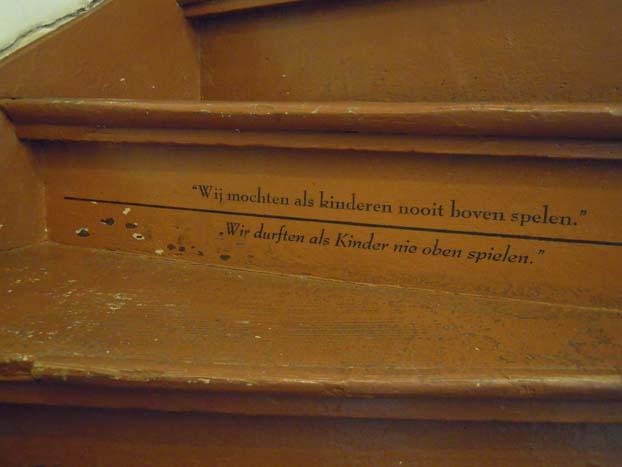 Onderduikmuseum Aalten de trap