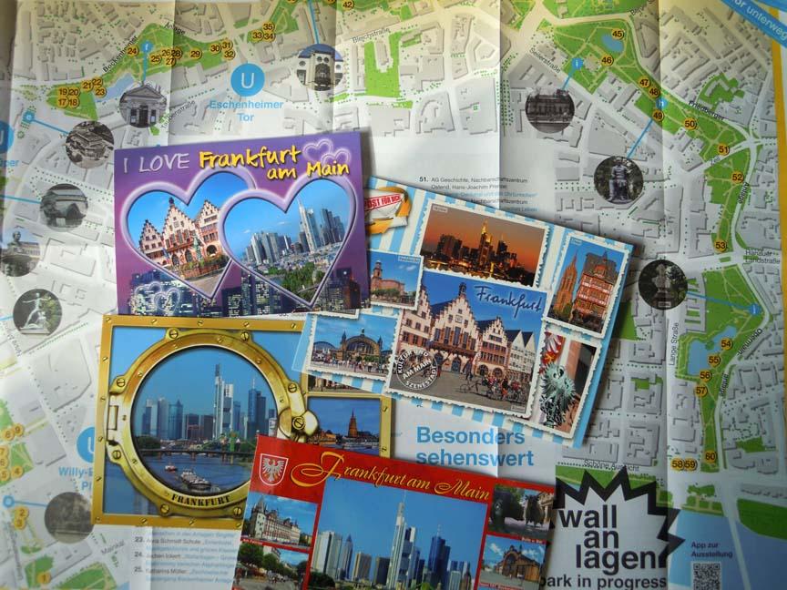 Frankfurt__kaart Wallanlage © Wilma Lankhorst