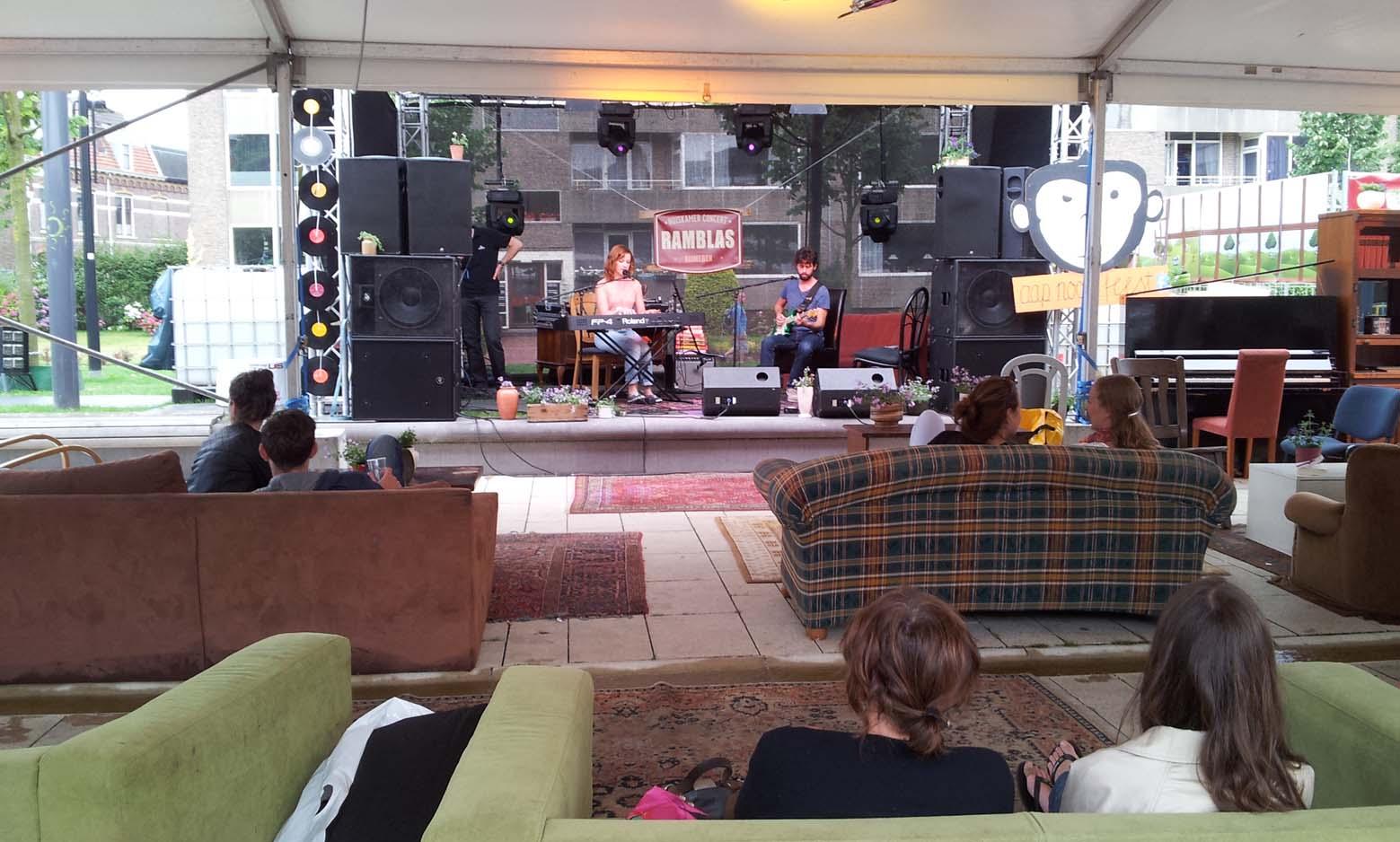 Ramblas-huiskamer-concert