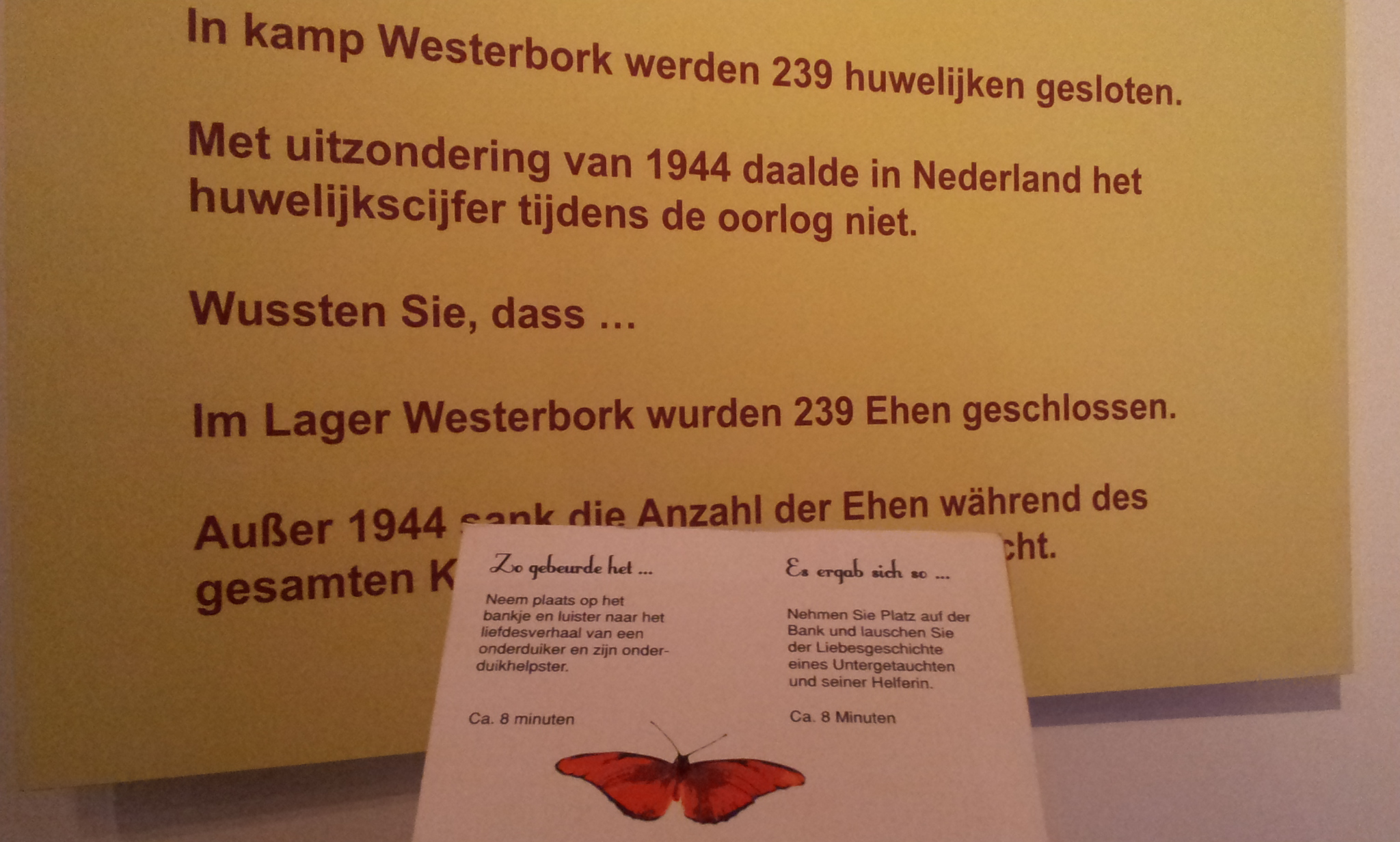 Onderduikmuseum Aalten liefde in oorlog