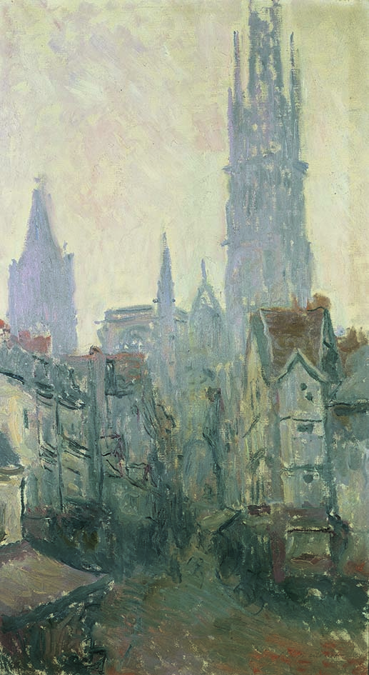09_Claude Monet_Rouen Rue de l Epicerie 1892 low res