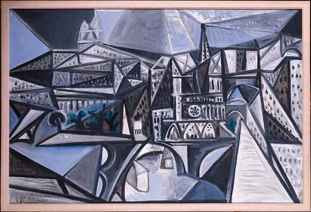Picasso, Pablo, Notre Dame de Paris, 1945, ML1228