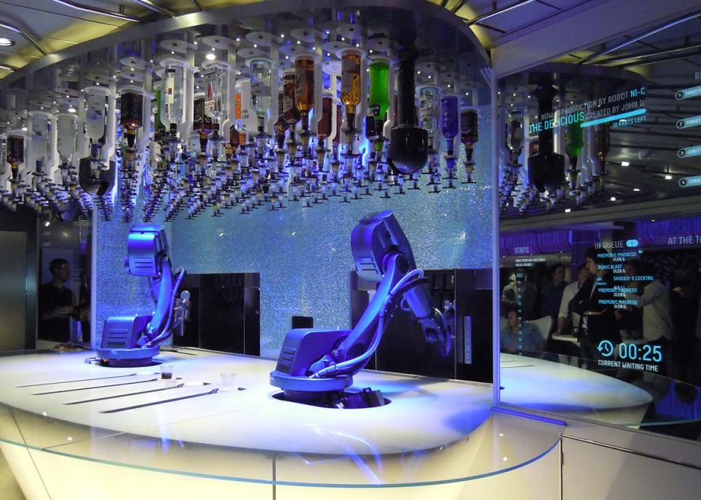 Quantum of the Seas Smart innovations de Bionac Bar Royal Caribbean Cruises