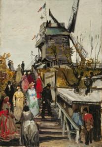 1886 - Vincent van Gogh, De molen 'Blute-Fin', coll. Museum de Fundatie