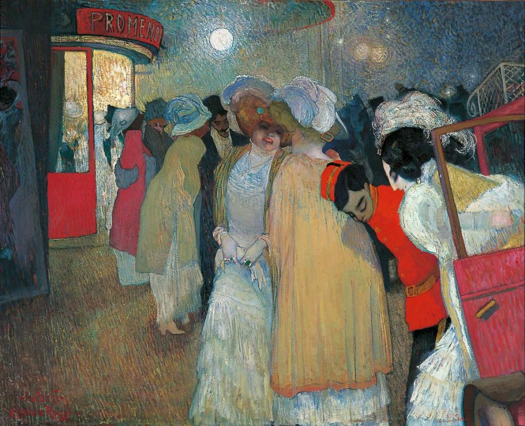 1908 - Piet van der Hem, Moulin Rouge Mus Fundatie
