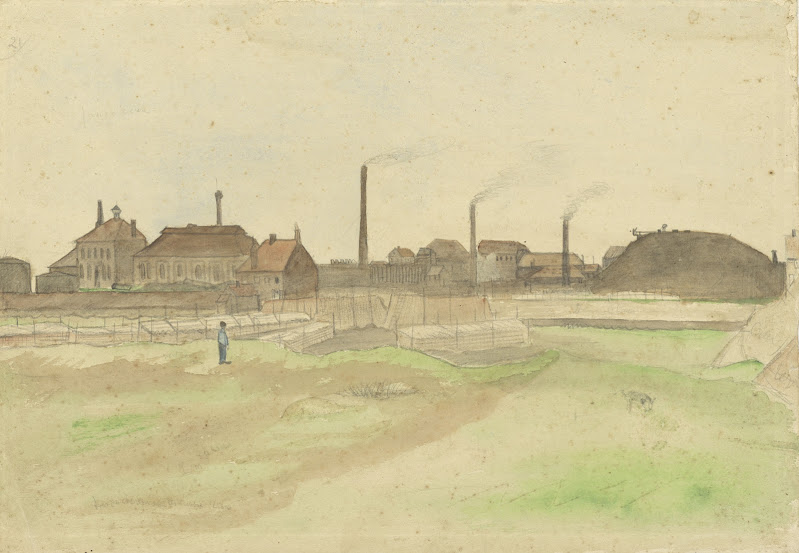 AMS_Cokesfabriek Borinage tekening VvG 1879