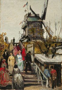 1886 - Vincent van Gogh, De molen 'Blute-Fin',  Mus Fundatie