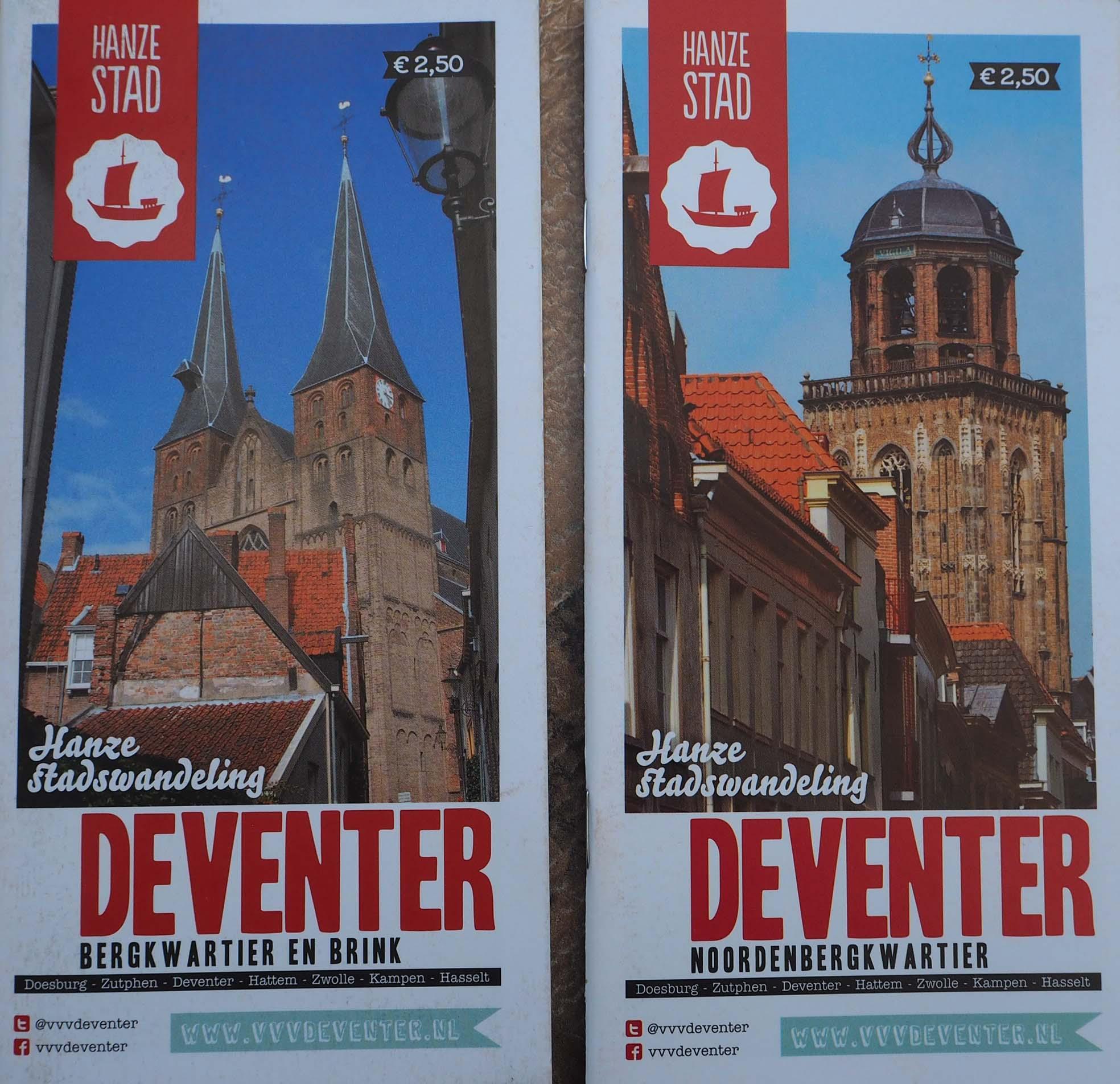 Volop keuze uit Hanzewandelingen in Hanzestad Deventer