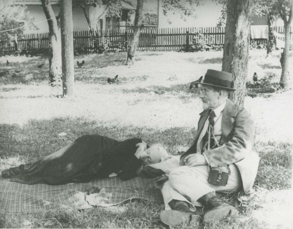 Käthe-und-Karl-Kollwitz-in-den-Ferien_1934 foto Erven Kollwitz