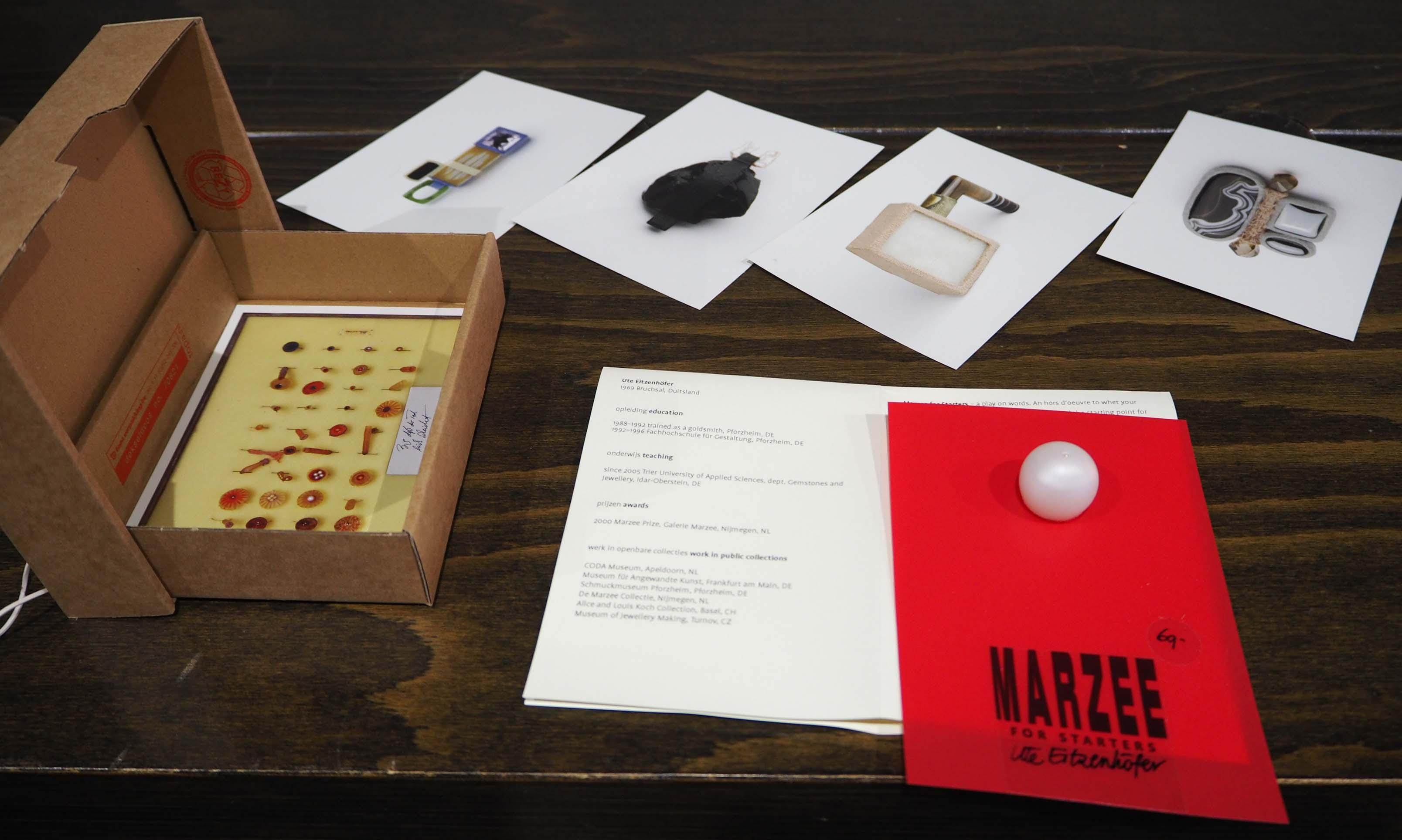 Galerie Marzee heeft speciale sieraden collectie voor startende verzamelaars