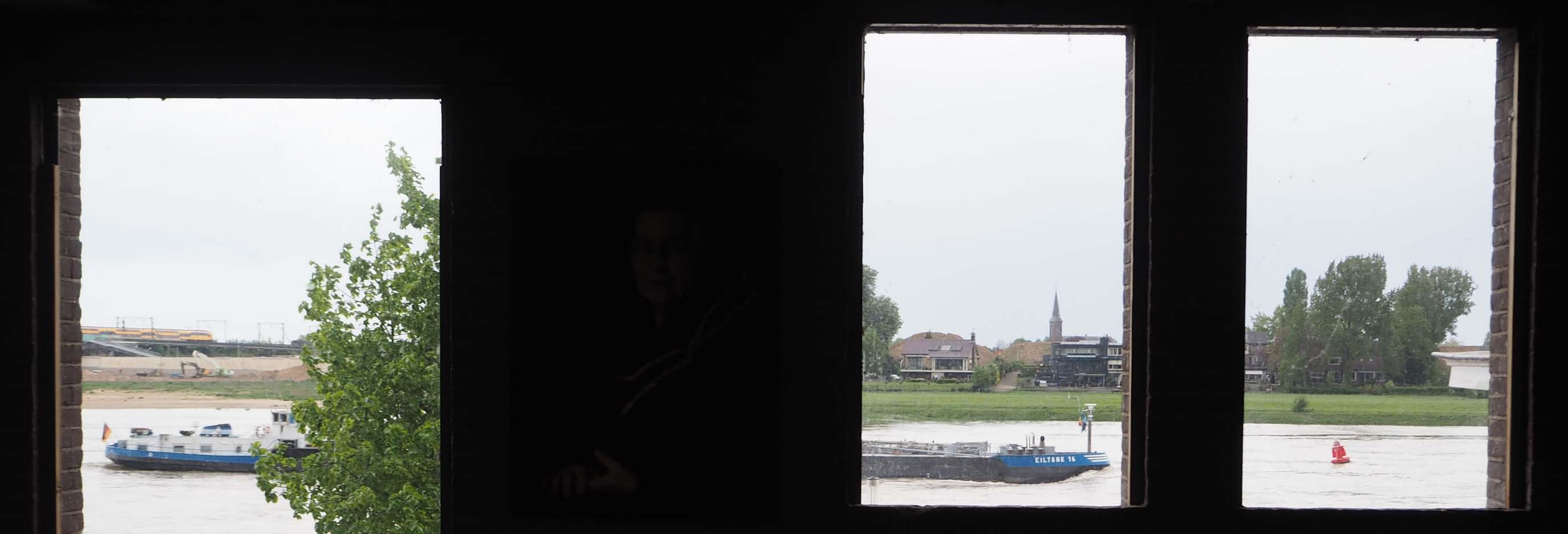 Galerie Marzee ligt aan de Waalkade in Nijmegen © Wilma Lankhorst