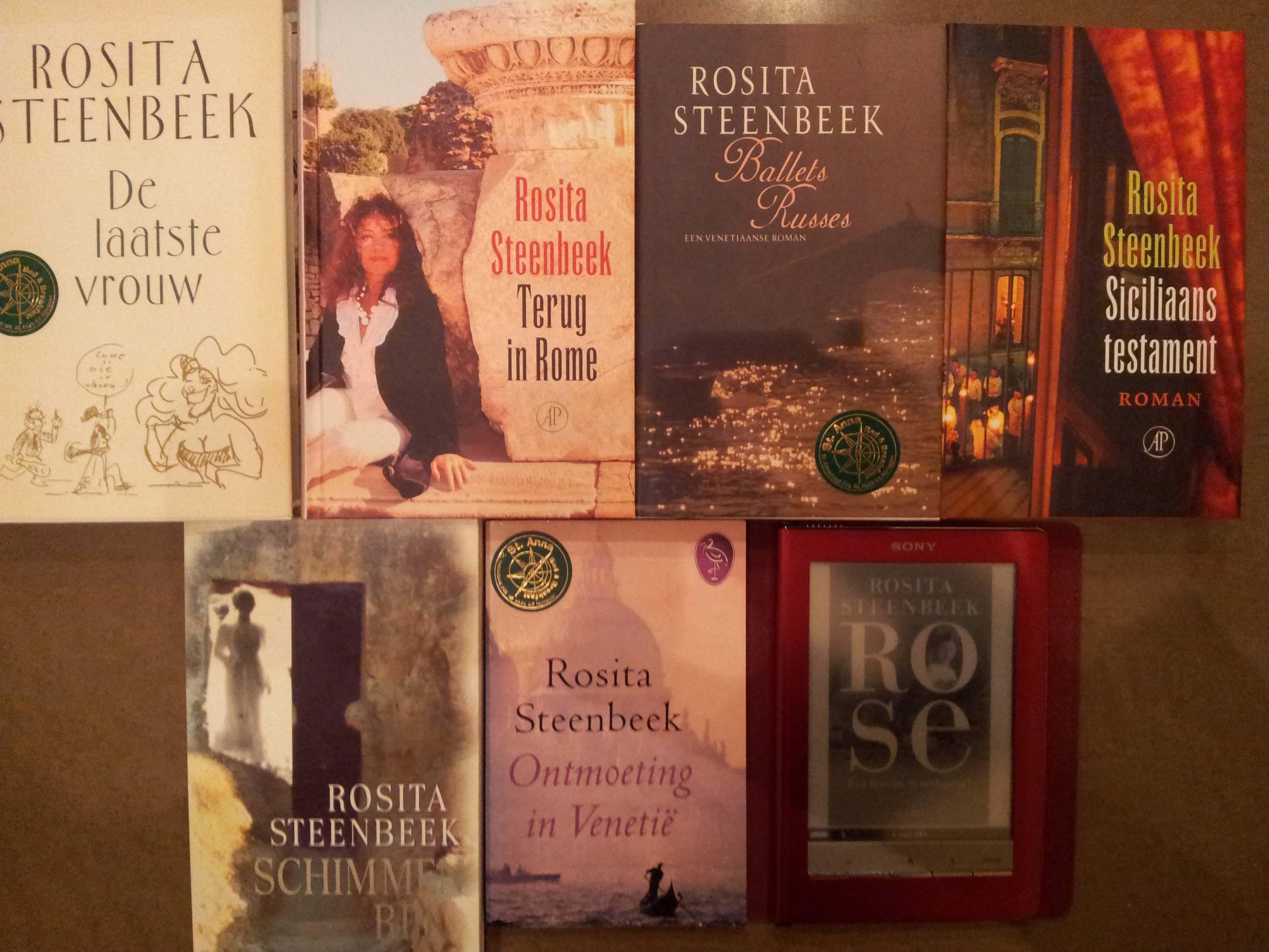 Rosita Steenbeek romans foto Wilma Lankhorst