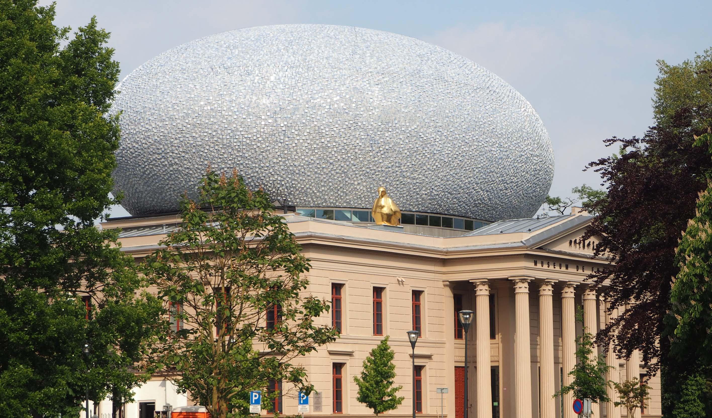 Hanzestad Zwolle centrum van cultuur en handel. Museum de Fundatie is een van de trekkers © Wilma Lankhorst