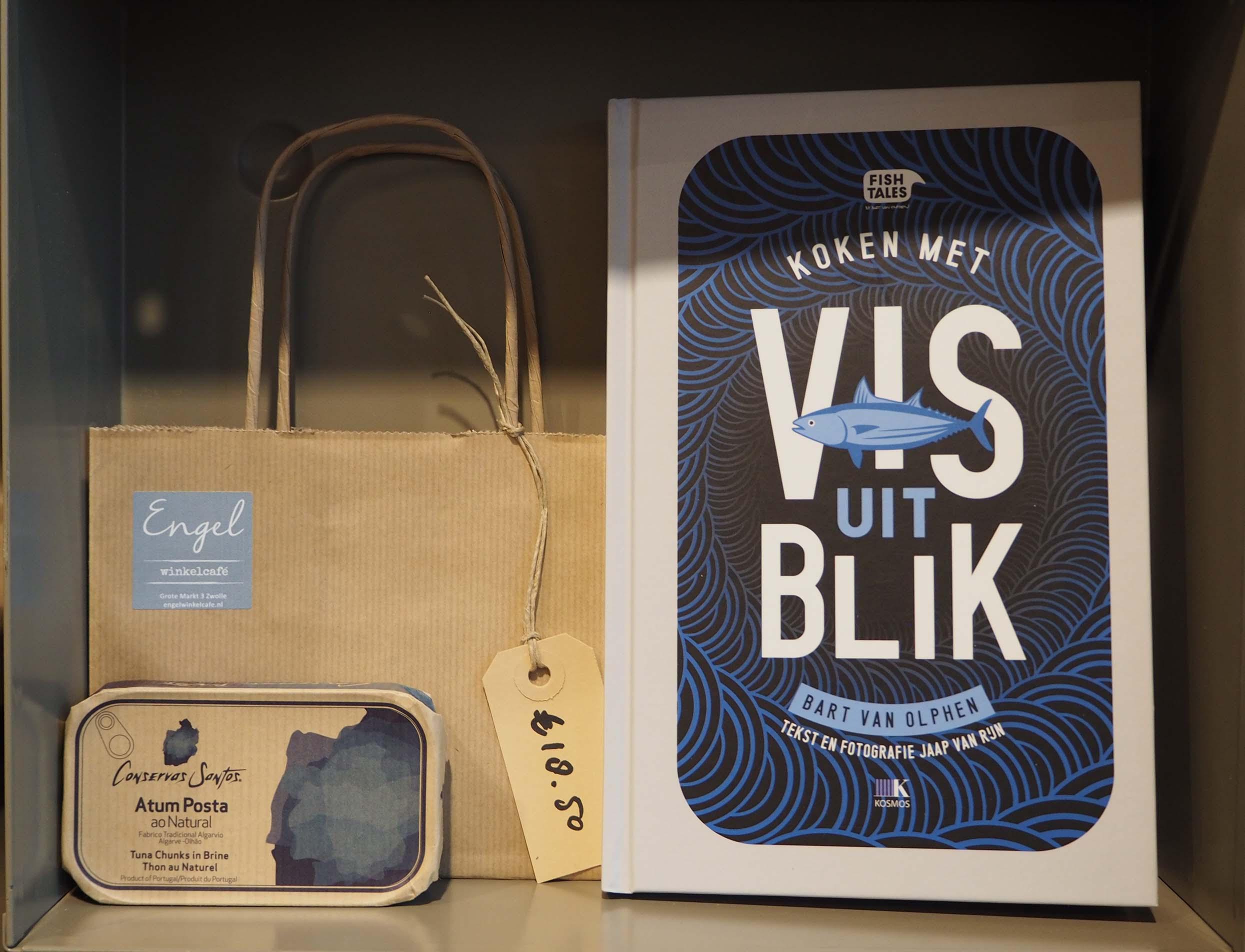 Nieuw in Zwolle Winkelcafé Engel bij de Grote Kerk © Wilma Lankhorst
