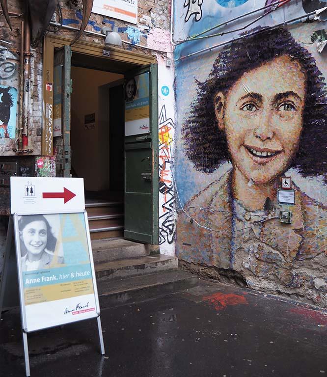 Anne Frank Hier en Nu in Berlin © Wilma Lankhorst