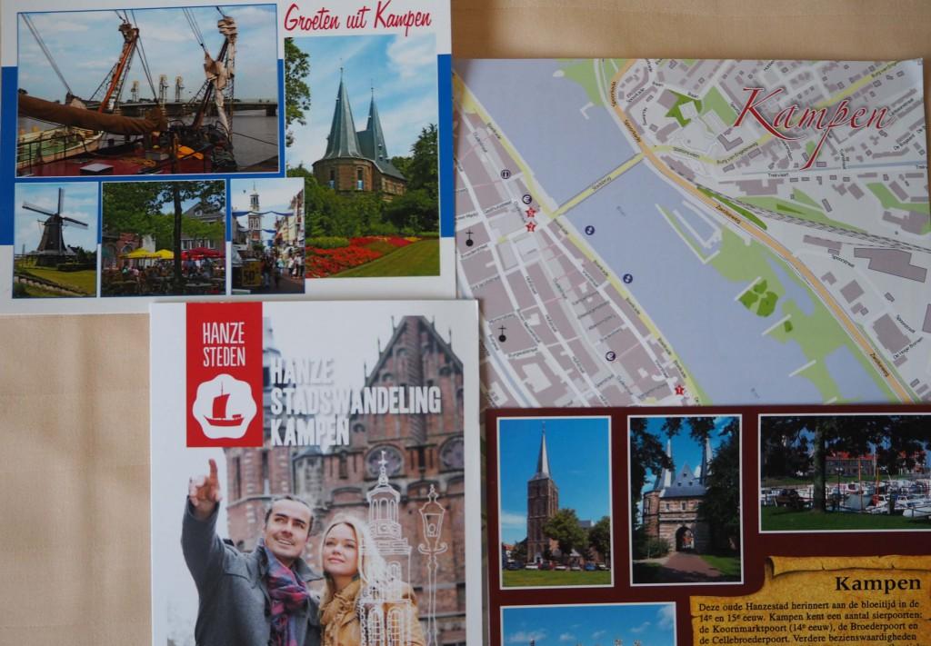 Hanzestadwandeling Kampen een prima hulpmiddel om de geschiedenis  van de Hanzesteden te volgen © Wilma Lankhorst