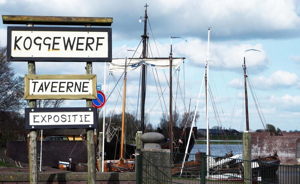 Koggewerf in Hanzestad Kampen, hier herleeft de Hanzetijd met de Kamper Kogge © Wilma Labnkhorst