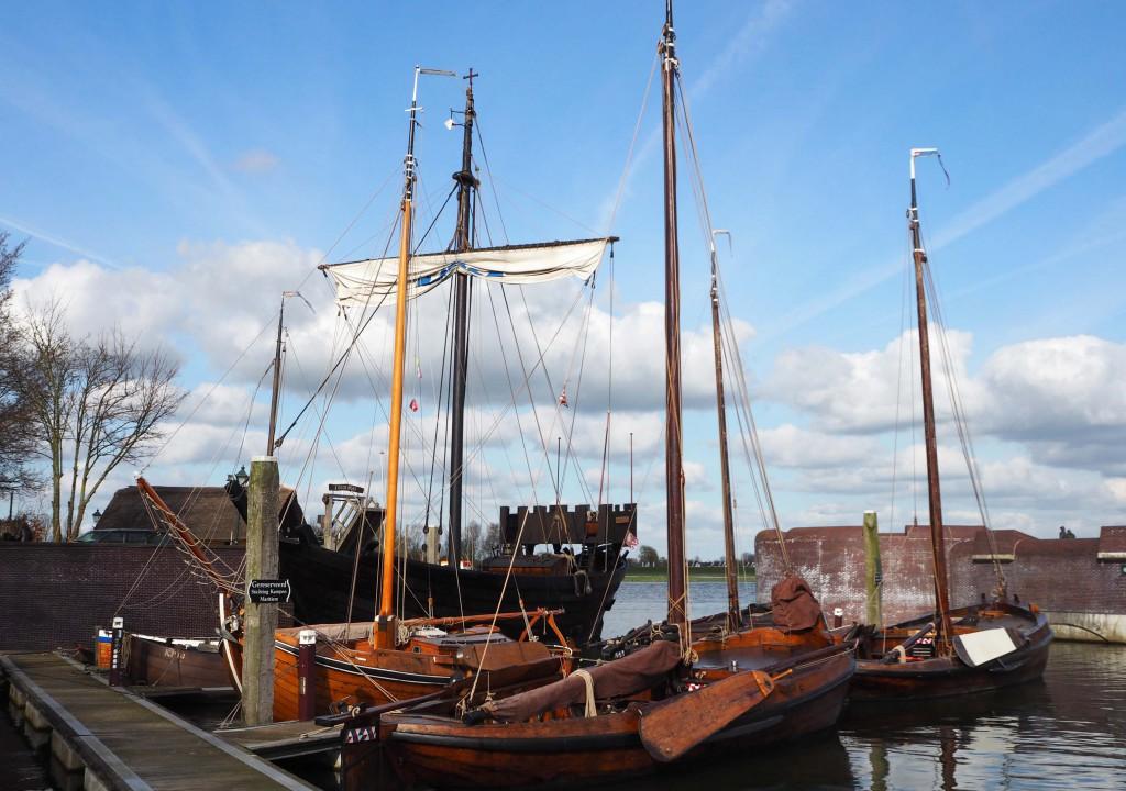 Op de Koggewerf in Kampen ligt een replica van een 14e eeuwse Kamper Kogge © Wilma Lankhorst