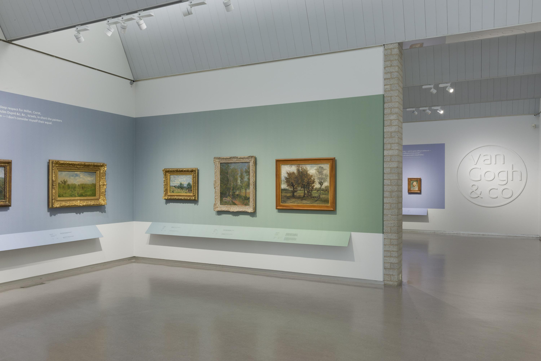 Kröller Müller Museum entree tentoonstelling Van Gogh & Co - fotograaf Marjon Gemmeke