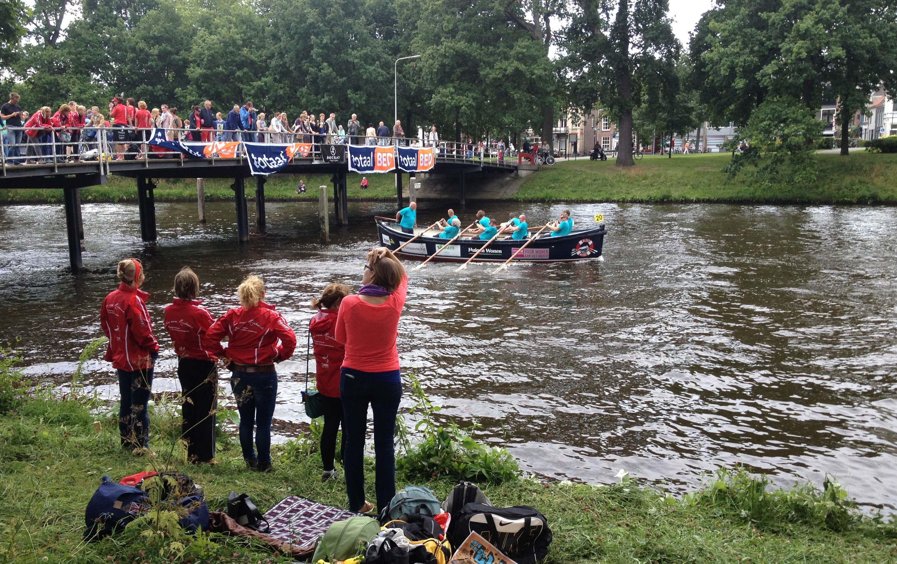 Sloepenrace in Hanzestad Zwolle