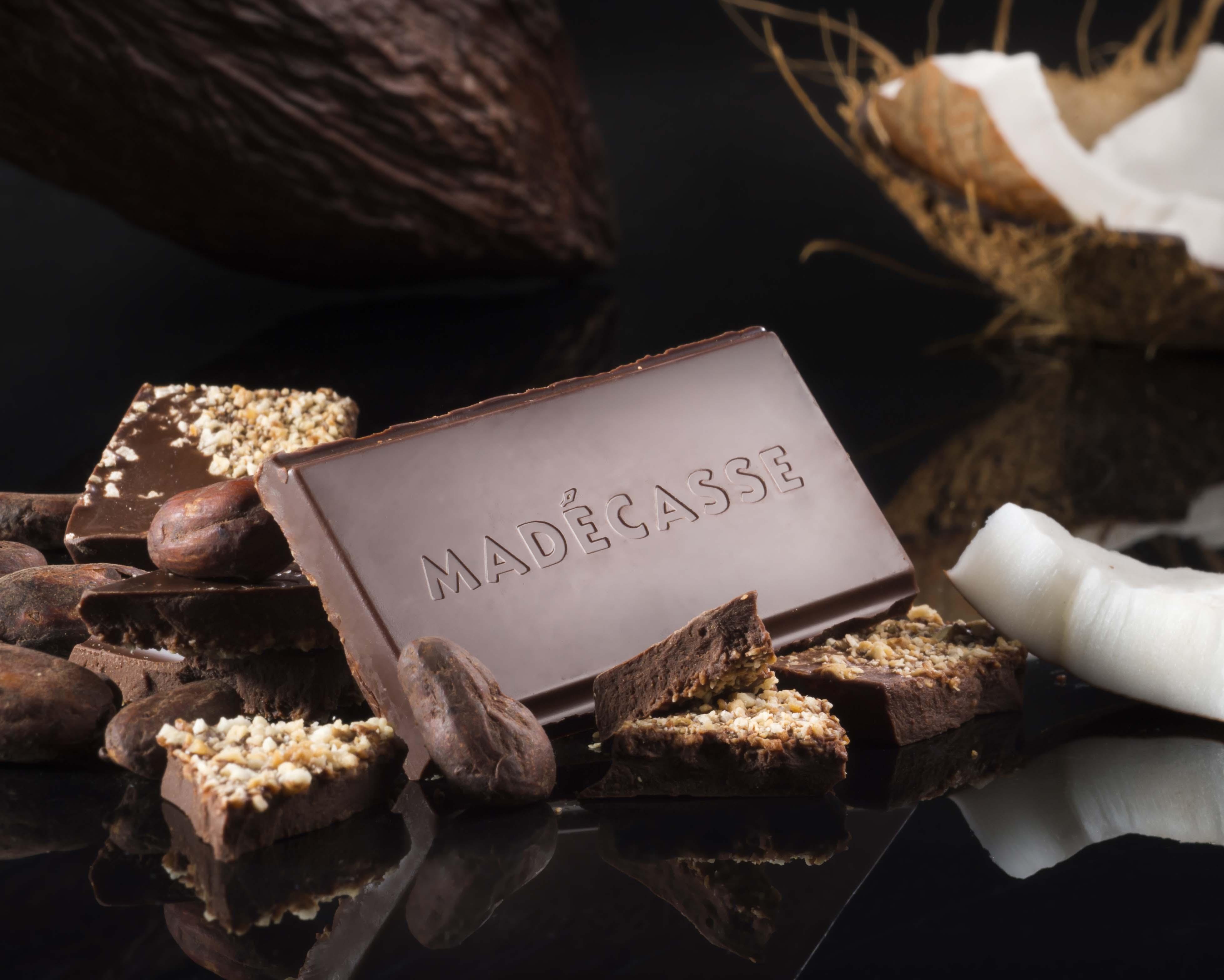 Toasted Coconut chocolade van Chocoweb, onderdeel van arrangement in AnnA B&B Deluxe Nijmegen