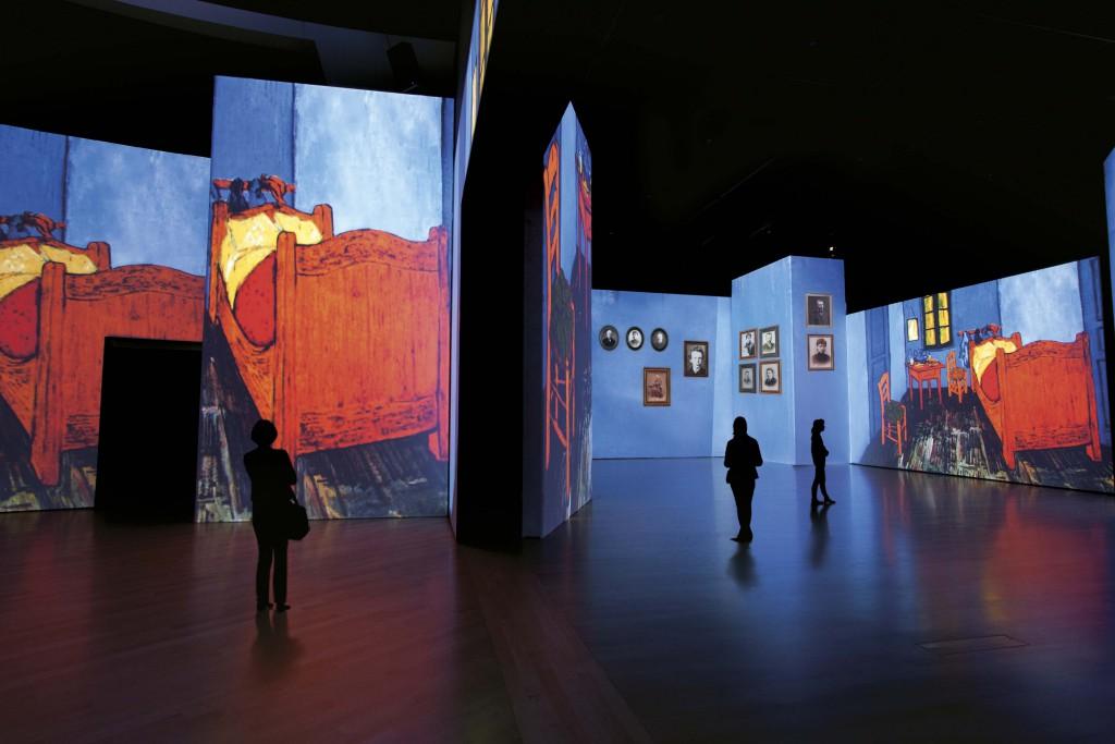 Vincent van Gogh slaapkamer in Arles - Van Gogh a live Berlijn