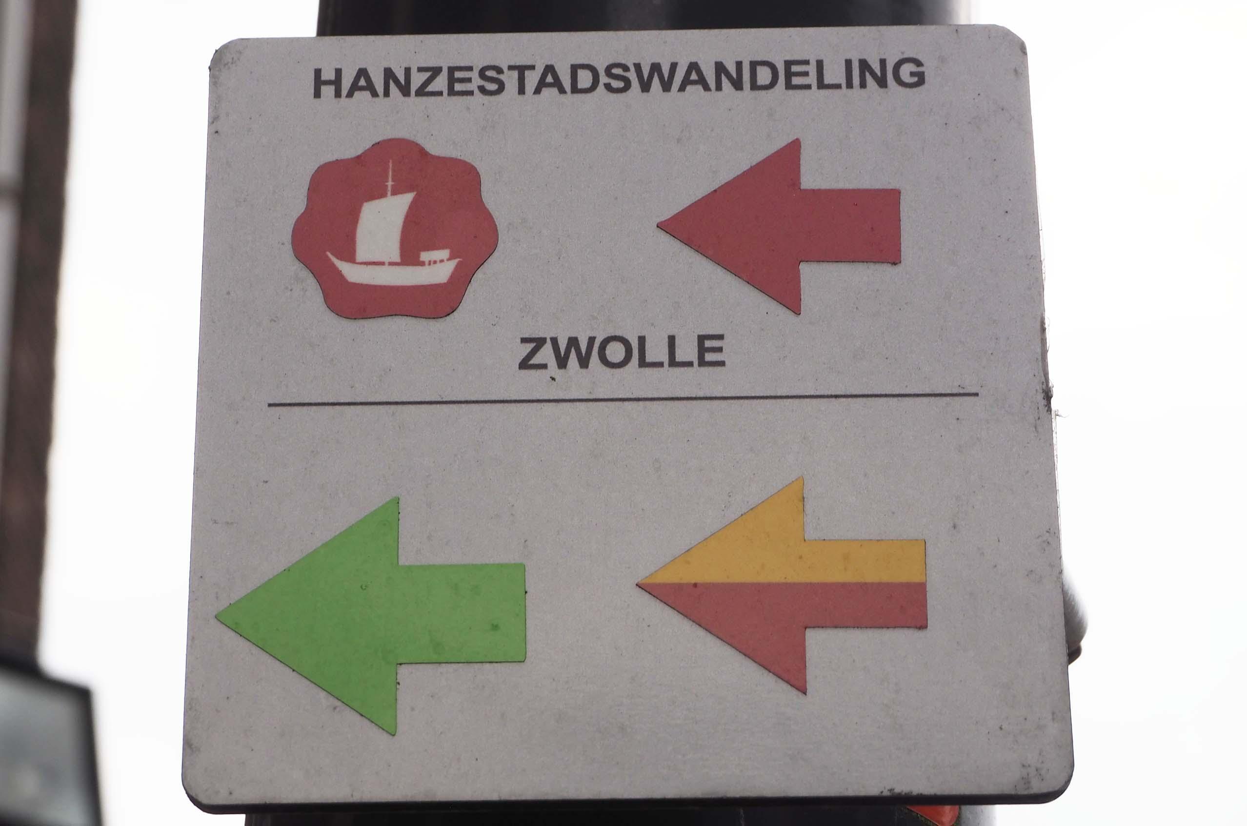 Hanze stadswandeling in Zwolle