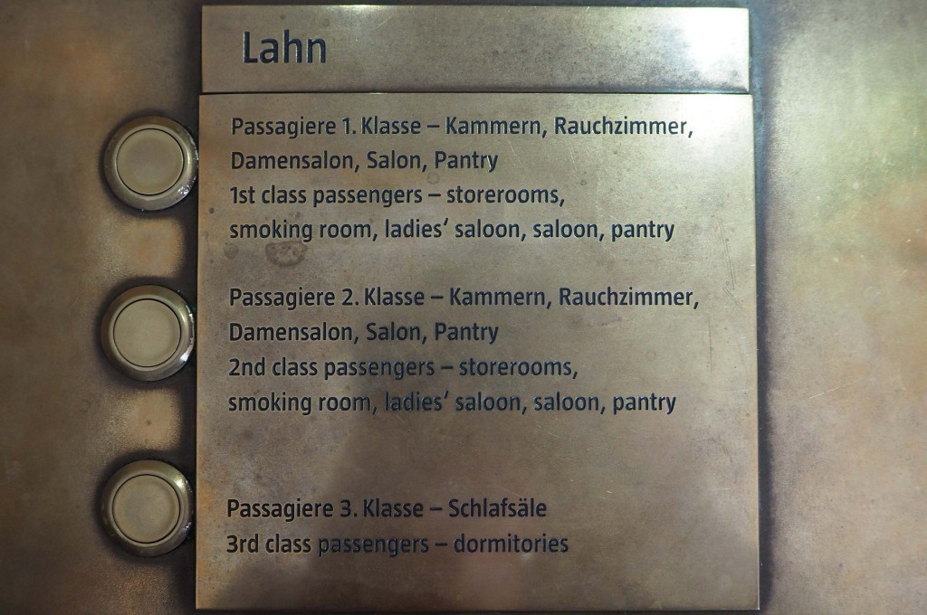 Overtocht met m.s. Lahn van Bremerhaven naar New York © Wilma Lankhorst