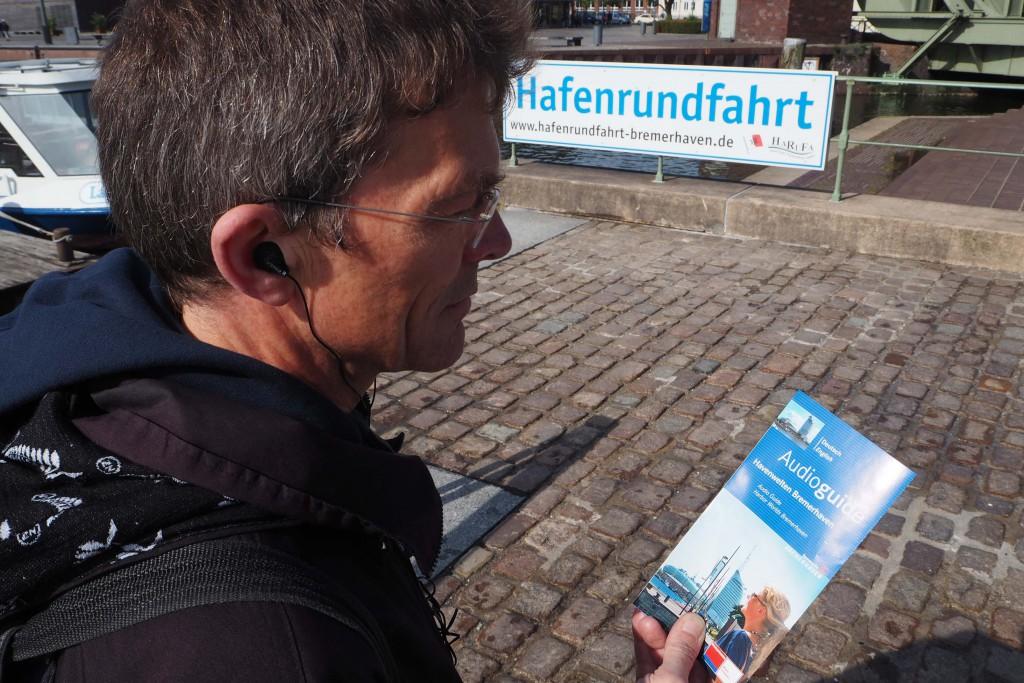 VVV Bremerhaven verhuurt audioguides met veel verhalen over de geschiedenis en bezienswaardigheden © Wilma Lankhorst
