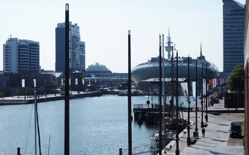 Bremerhaven Boarding House appartement Havenwelt foto Wilma Lankhorst