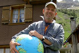 Axel Werner is je reisleider op de wereldreis in het Klimahaus in Bremerhaven © foto klimahaus