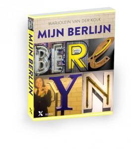 Reisblogger Marjoein van der Kolk presenteert Mijn Berlijn Boek naast Berlijn Blog