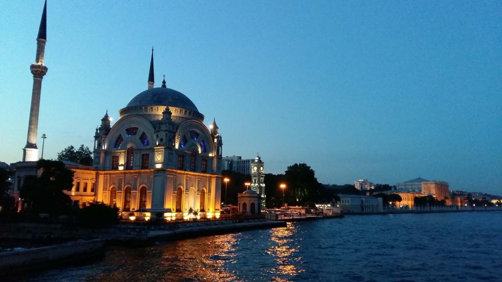 Paleis van de laatste sultan Bosporus © Wilma Lankhorst