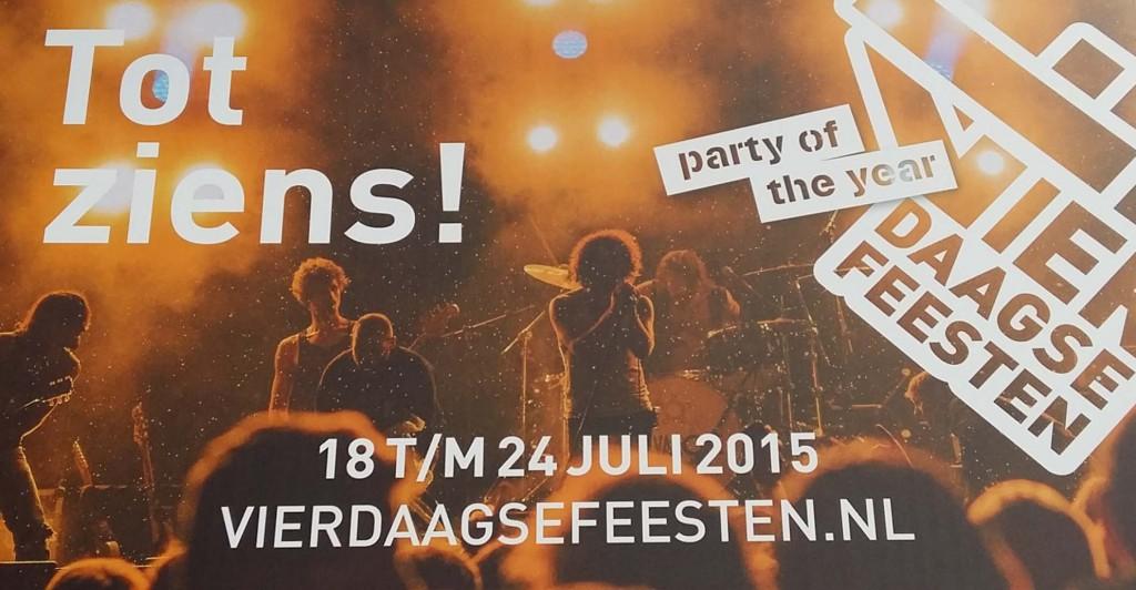 Tot ziens 4daagse Nijmegen