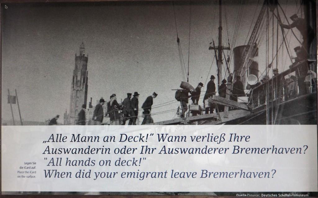 Historische foto uit © collectie Scheepvaartmuseum Bremerhaven