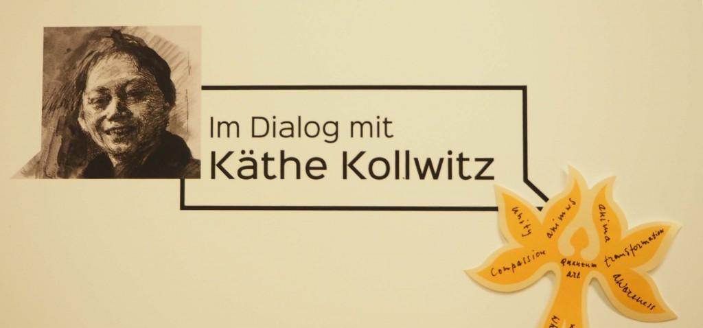 Mensbloem Huub en Adelheid Kortekaas in Dialoog met Käthe Kollwitz in Berlijn © Wilma Lankhorst