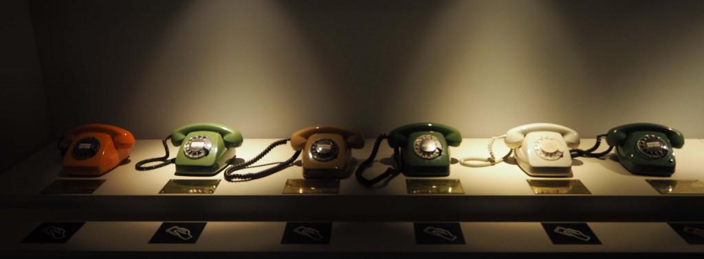 De geschiedenis van de Duitse immigranten wordt per telefoon verteld © Wilma Lankhorst