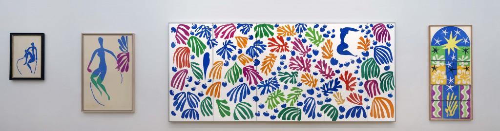 Bovenverdieping Zaal oase van Matisse © foto G. van Rooij - Stedelijk Museum Amsterdam