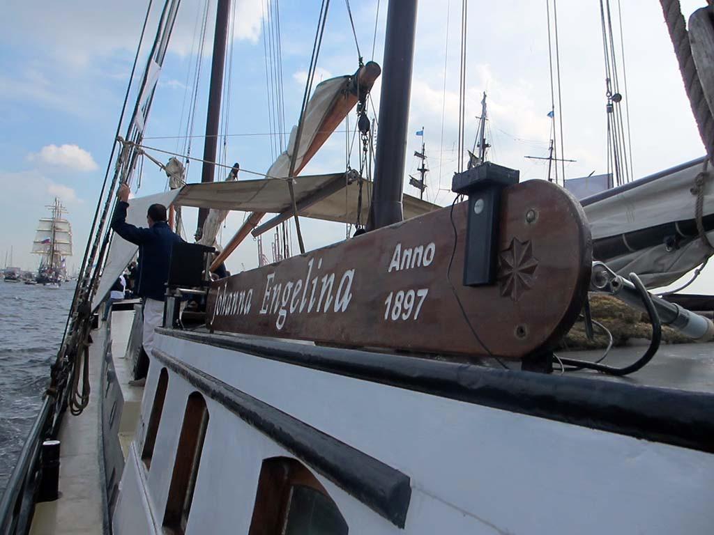 2015 Sail - Johanna Engelina van IJmuiden naar Amsterdam © Roly Teunissen