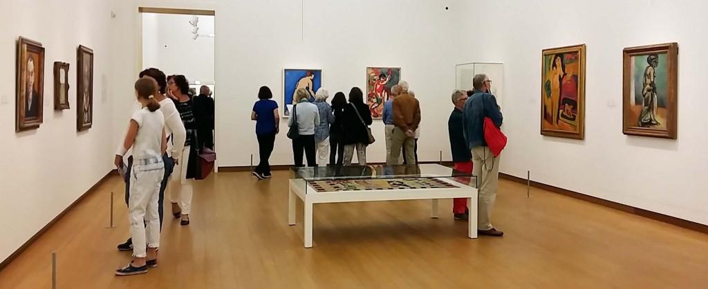 Oase van Matisse in stedelijk Museum in Amsterdam overzicht van de derde zaal foto Wilma Lankhorst