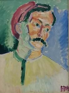 Matisse portret Andre Derain fauvisme