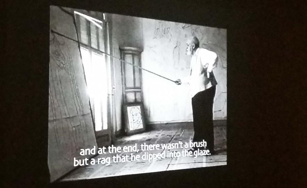 Henri Matisse werkt aan Rozenkranskapel in Franse Vence 1952-1953
